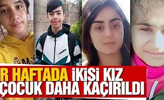 Bir Haftada İkisi Kız 4 Çocuk Daha Kaçırıldı