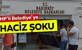 CHP'li Belediye'ye haciz şoku