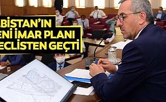 Elbistan'ın yeni imar planı meclisten geçti