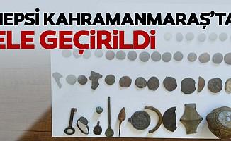 Kahramanmaraş'ta tarihi eser kaçakçılığı operasyonu