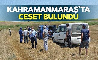 Kahramanmaraş'ta ceset bulundu