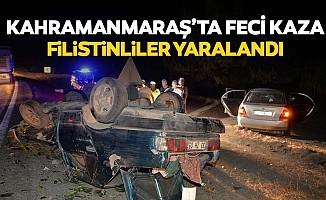 Kahramanmaraş'ta feci kaza, Filistinliler yaralandı