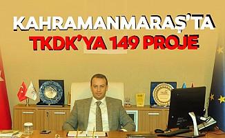 Kahramanmaraş'ta TKDK'ya 149 proje