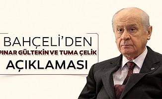 MHP Lideri Devlet Bahçeli'den açıklama