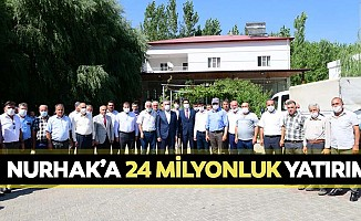 Nurhak'a 24 milyonluk yatırım