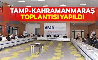 TAMP-Kahramanmaraş toplantısı yapıldı