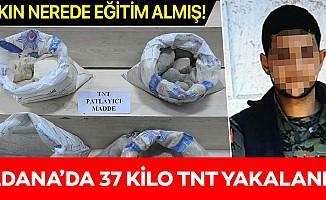37 kilo TNT patlayıcıyla yakalanan terörist, Irak ve Suriye'de eğitim almış