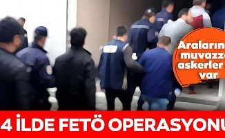 Adana merkezli 14 ilde FETÖ operasyonu!