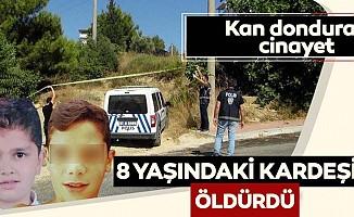 Antalya'dan kan donduran haber: 8 yaşındaki kardeşini öldürdü
