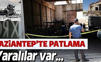 Gaziantep'te fabrikada patlama, 7 yaralı