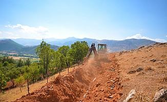 Hopurlu Mahallesinde İçme Suyu Çalışmaları Sürüyor