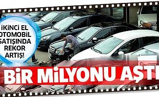 İkinci el otomobil satışında rekor! 1 milyonu aştı