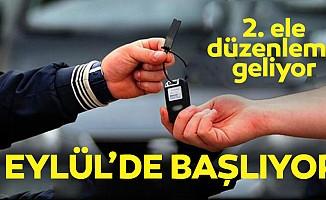 İkinci el otomobilde kritik tarih: 1 Eylül! 5 bin TL cezası var