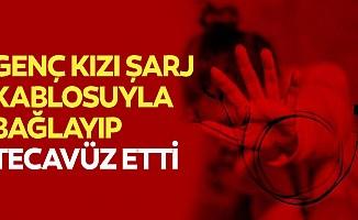 İstanbul'un göbeğinde skandal... genç kızı şarj kablosuyla bağlayıp tecavüz etti