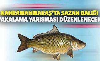 Kahramanmaraş'ta Sazan Balığı Yakalama Yarışması Düzenlenecek