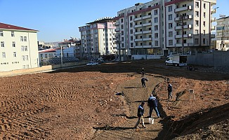 KMBB park yapımına devam ediyor