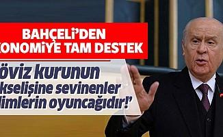 MHP lider Devlet Bahçeli'den ekonomi yönetimine tam destek!