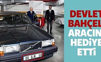 MHP lideri Devlet Bahçeli, Aracını Hediye Etti