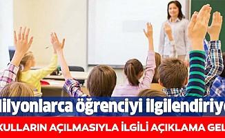 Okulların açılmasıyla ilgili Mehmet Ceyhan'dan beklenen açıklama geldi!