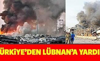 Türkiye'den Lübnan'a yardım
