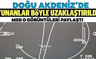 Yunanistan'a ait 6 adet F-16 uçağı, bölgeden uzaklaştırıldı