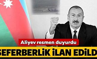 Aliyev seferberlik ilanını bugün resmen duyurdu
