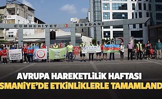 Avrupa Hareketlilik Haftası Osmaniye'de Etkinliklerle Tamamlandı