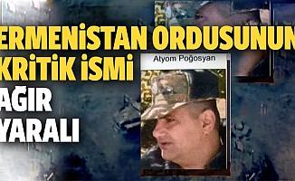 Azerbaycan resmen duyurdu! Ermenistan Ordusunun Kritik İsmi Ağır Yaralı