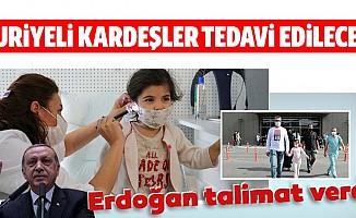 Cumhurbaşkanı Erdoğan'dan Suriyeli kardeşler için talimat