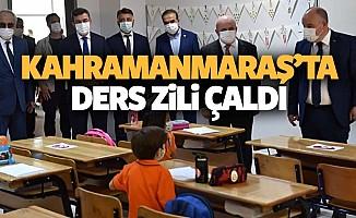 Kahramanmaraş'ta ders zili çaldı
