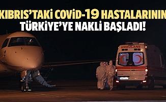 Kıbrıs'taki covid-19 hastalarının Türkiye'ye nakli başladı!