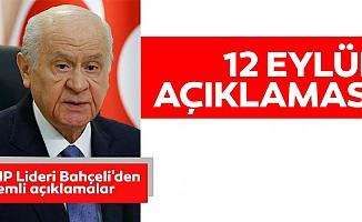 MHP Lideri Devlet Bahçeli'den 'Vesayetten Demokrasiye Milli İrade Sempozyumu'nda önemli açıklamalar
