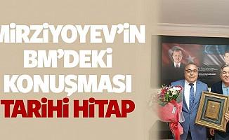 Mirziyoyev'in BM'deki Konuşması, Tarihi Hitap