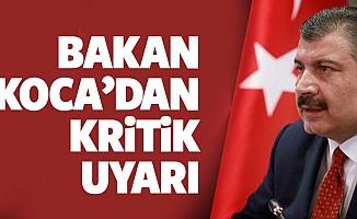 Sağlık Bakanı Fahrettin Koca: Vaka sayılarımız ülke genelinde artışa geçti...