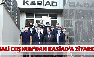 Vali Coşkun'dan KASİAD'a ziyaret