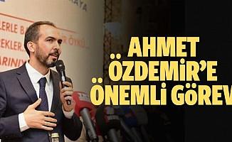 Ahmet Özdemir'e önemli görev