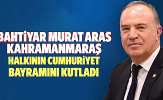 Bahtiyar Murat Aras'tan Cumhuriyet bayramı mesajı