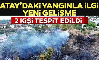 Bakan Pakdemirli'den Hatay'daki orman yangınına ilişkin açıklama!