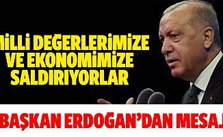 Başkan Erdoğan'dan 29 Ekim mesajı...