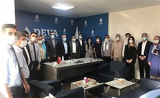 Chp Onikişubat İlçe Başkanından Deva Partisine Hayırlı Olsun Ziyareti