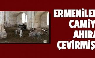 Dağlık Karabağ'da camileri ahıra çevirmişler