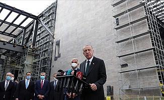 Erdoğan'dan Taksim Cami Açıklaması