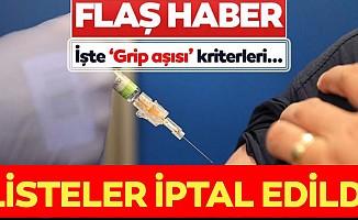 Grip aşısı kimler olabilecek? Eczanelerdeki listeler iptal edildi