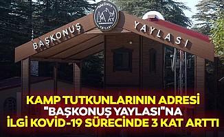 """Kamp Tutkunlarının Adresi """"Başkonuş Yaylası""""Na İlgi Kovid-19 Sürecinde 3 Kat Arttı"""