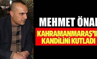 Mehmet Önal'dan kandil mesajı