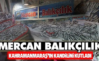 Mercan Balıkçılık'tan kandil mesajı