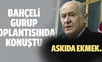 MHP lideri Devlet Bahçeli'den MHP Grup Toplantısı'nda önemli açıklamalar