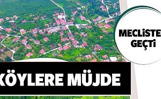 TBMM'den 'Kırsal Mahalle' statüsündeki köylere müjde