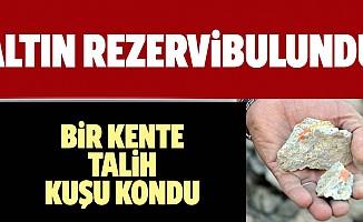 Türkiye'nin bir köyünde altın çıktı!