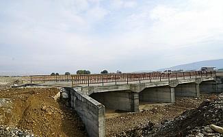 Deliçay Köprüsü Tamamlandı
